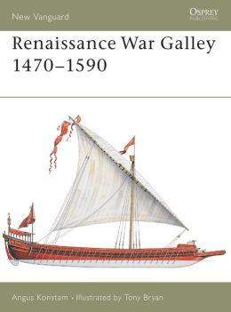 Renaissance War Galley