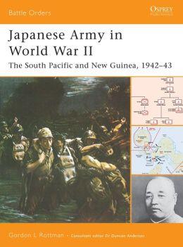 Japanese Army in World War II (Battle Orders 14)
