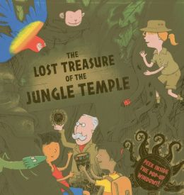The Lost Treasure of the Jungle Temple: Peek inside the 3D windows!