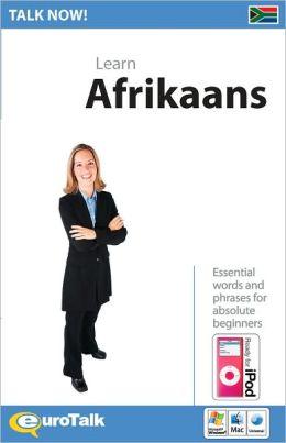 Talk Now! Learn Afrikaans