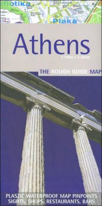 Athens: The Rough Guide Map
