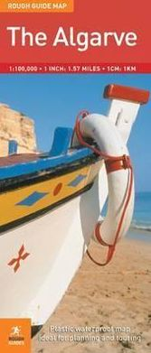 The Rough Guide to The Algarve Map