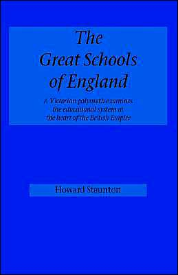 The Great Schools Of England
