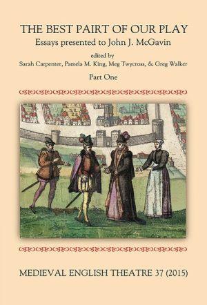 Medieval English Theatre 37: