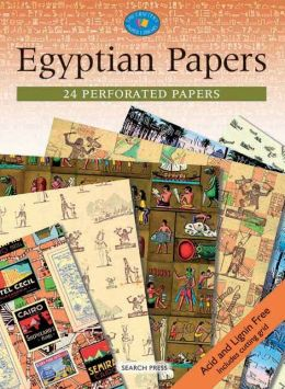 Egyptian Papers: 24 Perforated Papers