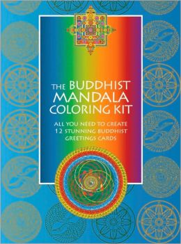 Buddhist Mandala Coloring NT: All You Need to Create 12 Stunning Buddhist Greeting Cards