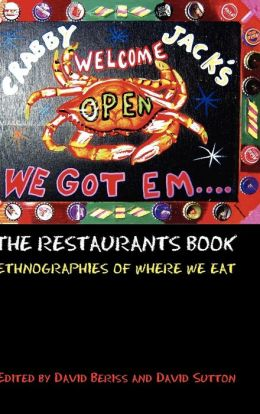 Restaurants Book: Ethnographies of Where we Eat