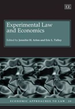 Experimental Law and Economics