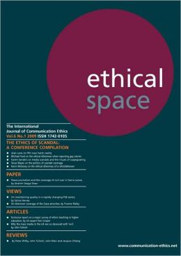 Ethical Space Vol.6 No.1