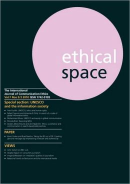 Ethical Space Vol.7 Issue 2/3