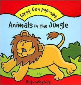 Animals in the Jungle: First Fun Pop-ups