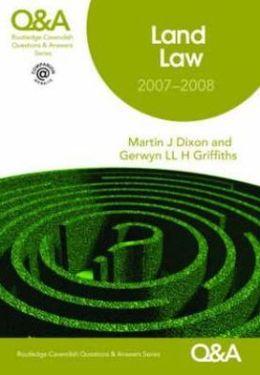 Q&A Land Law 2007-2008