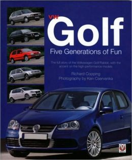 VW Golf Five Generations of Fun
