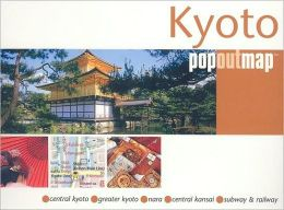 Kyoto Popout Map