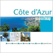 Cote d' Azur Popout Map