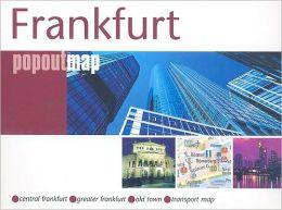 Frankfurt: Compass Popout Map