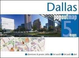 Dallas, Texas PopOut Map