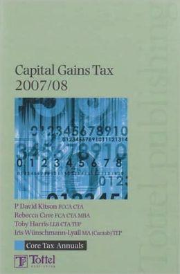 Core Tax Annual: Capital Gains Tax 2007-2008