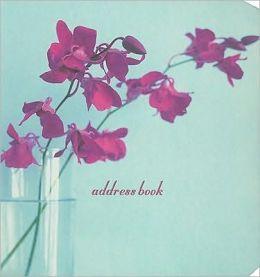 Orchid Pocket Address Book