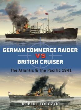 German Commerce Raider vs British Cruisers
