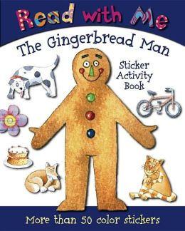 Read with Me Gingerbread Fred: Sticker Activity Book