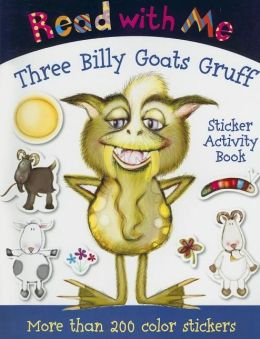 Read with Me Three Billy Goats Gruff: Sticker Activity Book