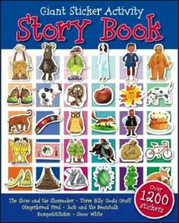 Giant Sticker Activity Story Book