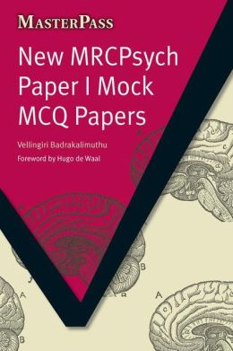 New MRCPsych Paper I Mock MCQ Papers