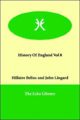 History of England Vol 8