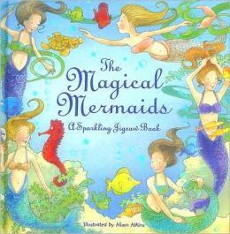 Magical Mermaid Jigsaw Book