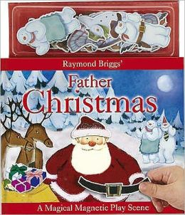 Father Christmas Magnetic Playscene