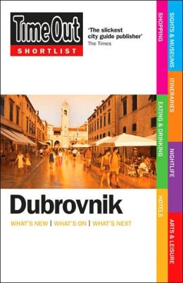 Time Out Shortlist Dubrovnik