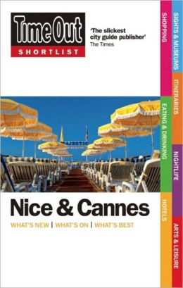 Time Out Shortlist Nice and Cannes 1st Edition