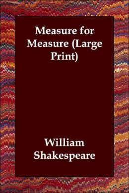 Measure For Measure (Large Print)