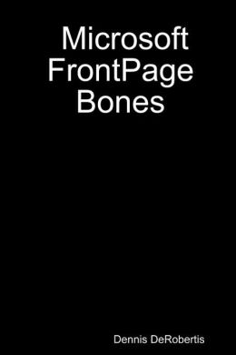 Microsoft FrontPage Bones