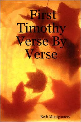 First Timothy Verse by Verse