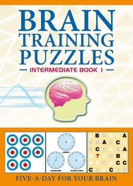 Brain Training Puzzles: Intermediate Book 1: Five-A-Day for Your Brain