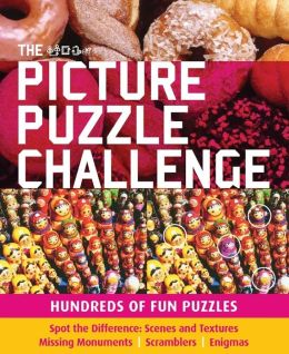 The Picture Puzzle Challenge: Hundreds of Fun Puzzles Carlton Books