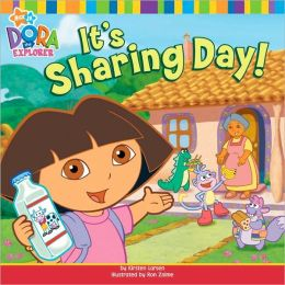 Dora the Explorer It's Sharing Day!