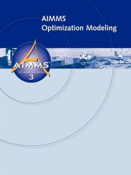 Aimms Optimization Modeling