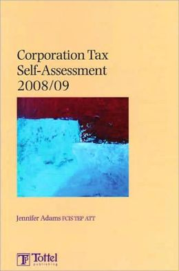 Corporation Tax Self-Assessment 2008-2009