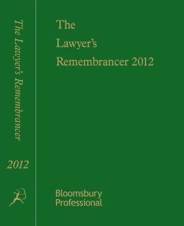 Lawyer's Remembrancer 2012