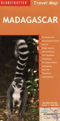 Madagascar Travel Map (Globetrotter Travel Map Series)