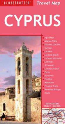 Cyprus Travel Map