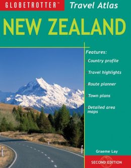 New Zealand Travel Atlas, 2nd