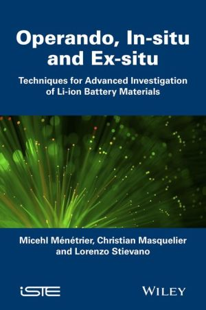 Operando, in-situ or ex-situ: which techniques for Li-ion batteries