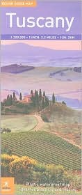 Rough Guide Map Tuscany