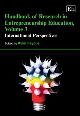Handbook of Research in Entrepreneurship Education