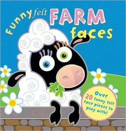 Funny Felt Farm Faces