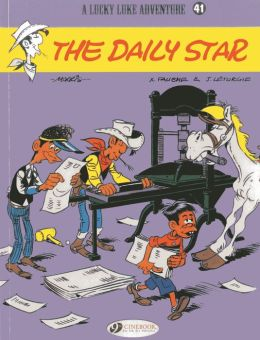 The Daily Star (Lucky Luke Adventure Series #41)